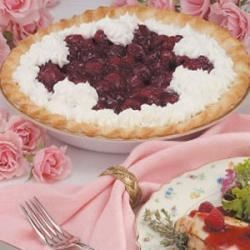 Photo of Fresh Raspberry Pie by Ruth  Andersson