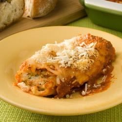 Three Cheese Manicotti II Recipe