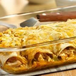 Photo of Chicken Enchiladas Verde by Campbell's Kitchen