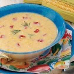 Photo of Rosemary Corn Soup by Thelma  Reid