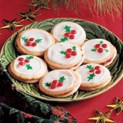 Photo of Holly Berry Cookies by Audrey  Thibodeau