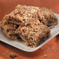 Photo of Oatmeal Date Bars by Helen  Cluts