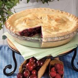 Photo of Raspberry Cherry Pie by Mari  Anne Warren