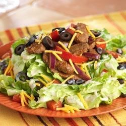 Photo of Steak Fajita Salad by Dole