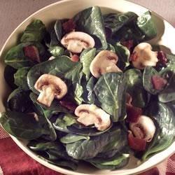 Spinach Salad with Citrus Vinaigrette
