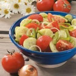 Photo of Garden Vegetable Salad by Ramona  Sailor