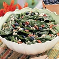 Photo of Blueberry Spinach Salad by Heidi  Gilleland
