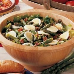 Photo of Hot Bacon Asparagus Salad by Paulette  Balda