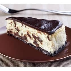 Photo of Decadent Chocolate Chunk Cheesecake by BAKER'S Chocolate