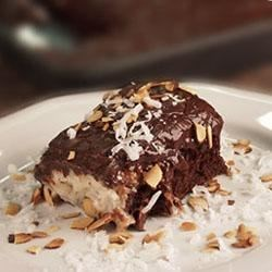 Almond Coconut Chocolate Cake Recipe