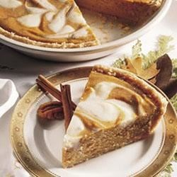 Pumpkin-Cream Cheese Pie Recipe