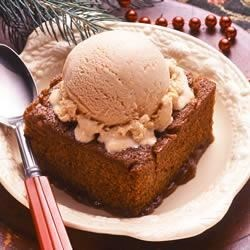gingerbread pudding cake review by mallinda