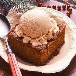Gingerbread Pudding Cake Recipe