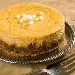 Gingersnap Pumpkin Cheesecake Recipe