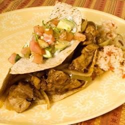 Photo of Sizzling Chicken Fajitas by Pam Anderson