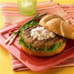 Thai Turkey Burgers