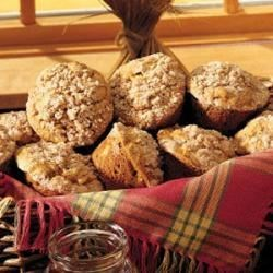 Photo of Pumpkin-Apple Muffins with Streusel Topping by Carolyn Riley