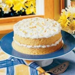 Photo of Orange Dream Cake by Willa  Govoro