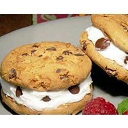 EAGLE BRAND(R) Chocolate Chip Ice Cream Sandwiches Recipe