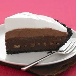 Photo of Triple Layer Chocolate Pie by JELL-O