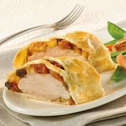 Pepperidge Farm(R) Stuffed Pork Tenderloins en Croute