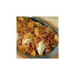 BUSH'S(R) Spicy Mandarin Chicken and Beans Recipe