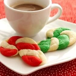 Christmas Candy Cane Cookies (Cookie Mix) Recipe