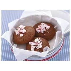 Mint Chocolate Truffle Cookies Recipe