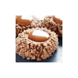 Chocolate-Caramel Thumbprints Recipe