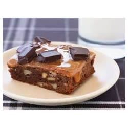 Chocolate Bliss Caramel Brownies Recipe