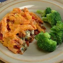 Tex-Mex Pasta Bake Recipe