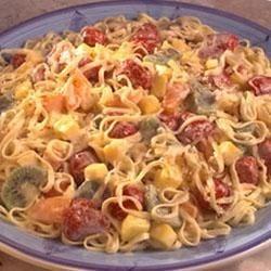 Buitoni's Tropical Fruit and Pasta Salad Recipe