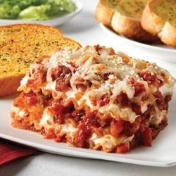 Sausage and Peppers Lasagna |