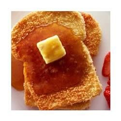Crispy Baked French Toast Recipe