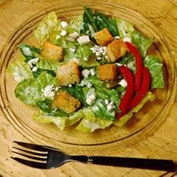 Caesar Salad with Cilantro and Green Chile Dressing Recipe