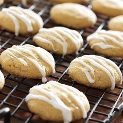 Brown Sugar Masa Shortbread with Anise Glaze