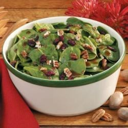 Photo of Cranberry Spinach Salad by Garnet Amari