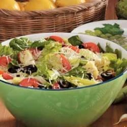 Photo of Lemon Artichoke Romaine Salad by Kathleen  Law