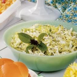 Photo of Basil Dill Coleslaw by June  Cappetto