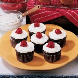 Photo of Chocolate Cherry Cupcakes by Bertille  Cooper