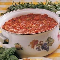 Photo of Garden-Fresh Spaghetti by Sue  Yaeger