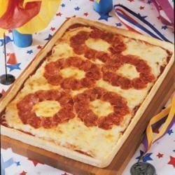Photo of Olympic Rings Pizza by Therese  Judge