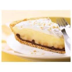 Black-Bottom Banana Cream Pie