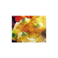 Cheddar Broccoli Chicken and Mashed Potatoes Recipe