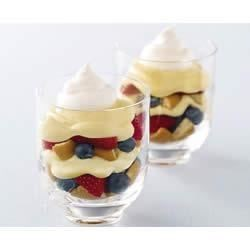 Photo of Berry Cheesecake Parfaits by JELL-O