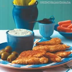 Crispy Chicken Dippers Recipe