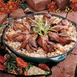 Photo of Quail With Rice by Lenora  Picolet