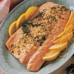 Photo of Lemon Herbed Salmon by Perlene  Hoekema
