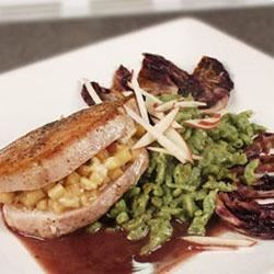 Gorgonzola and Apple Pork Chops Recipe