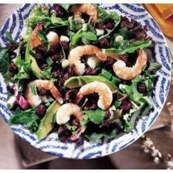 Shrimp Salad with Dried Cherries